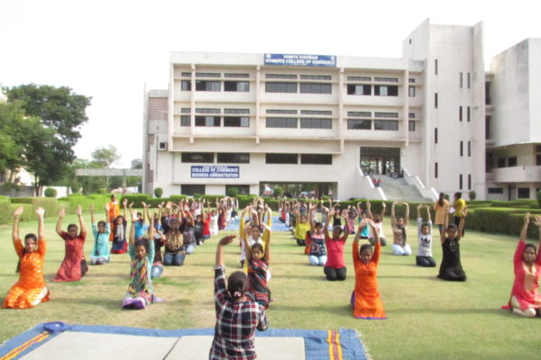 Celebration of International Yoga Day