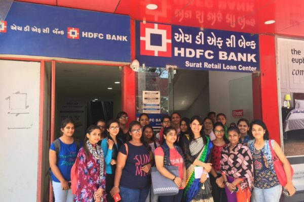 Visit to HDFC Bank